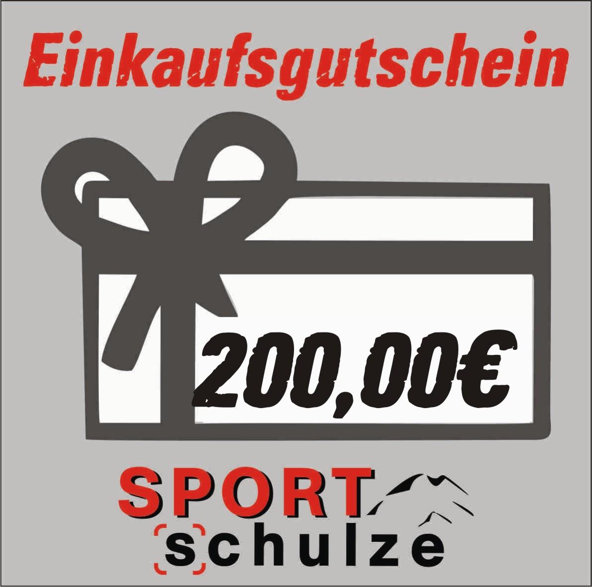 200€ Einkaufsgutschein