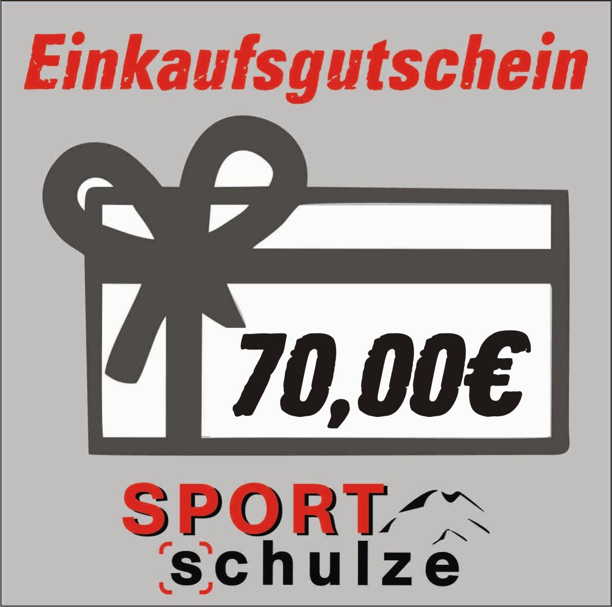 70€ Einkaufsgutschein