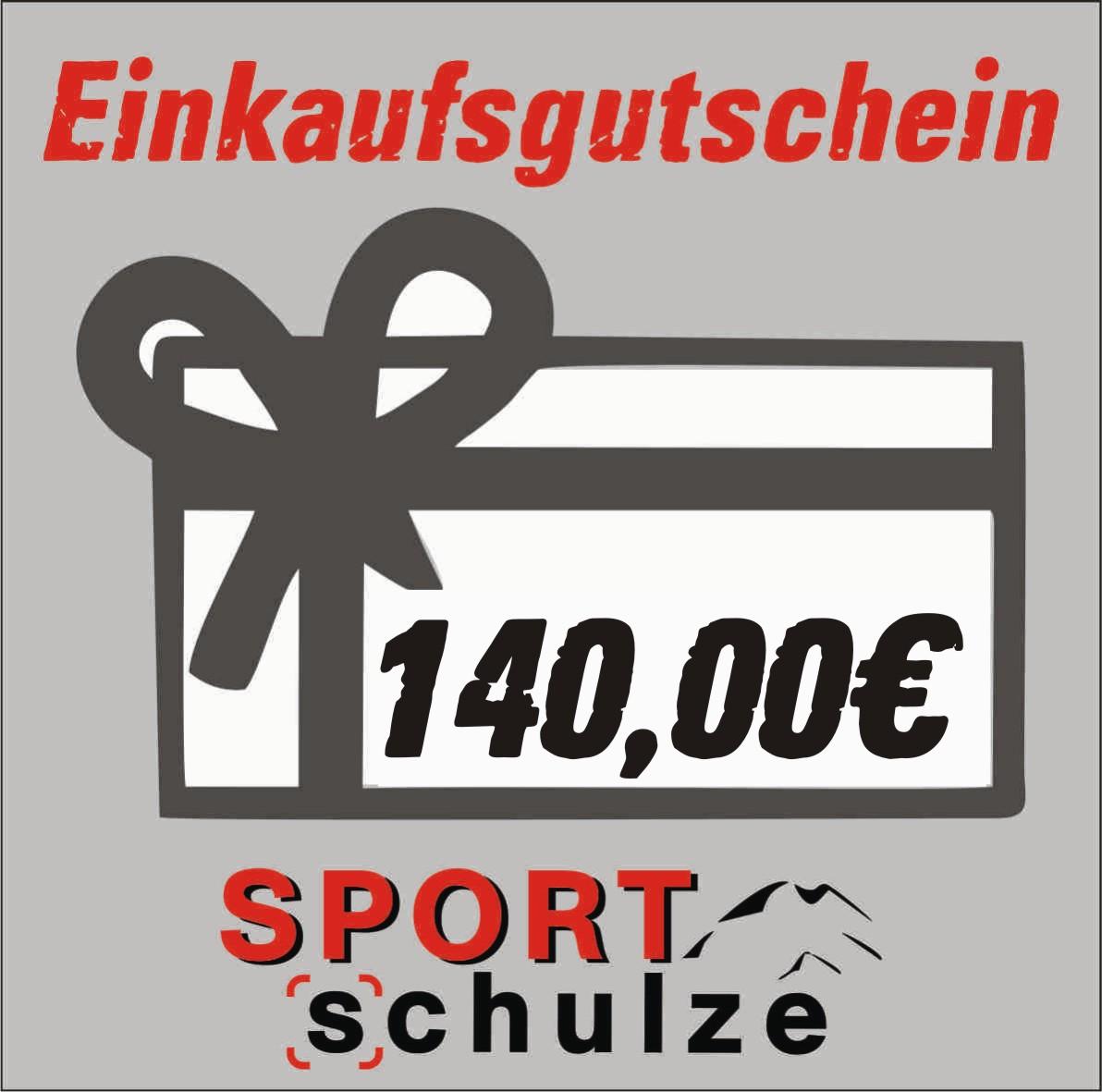 140€ Einkaufsgutschein