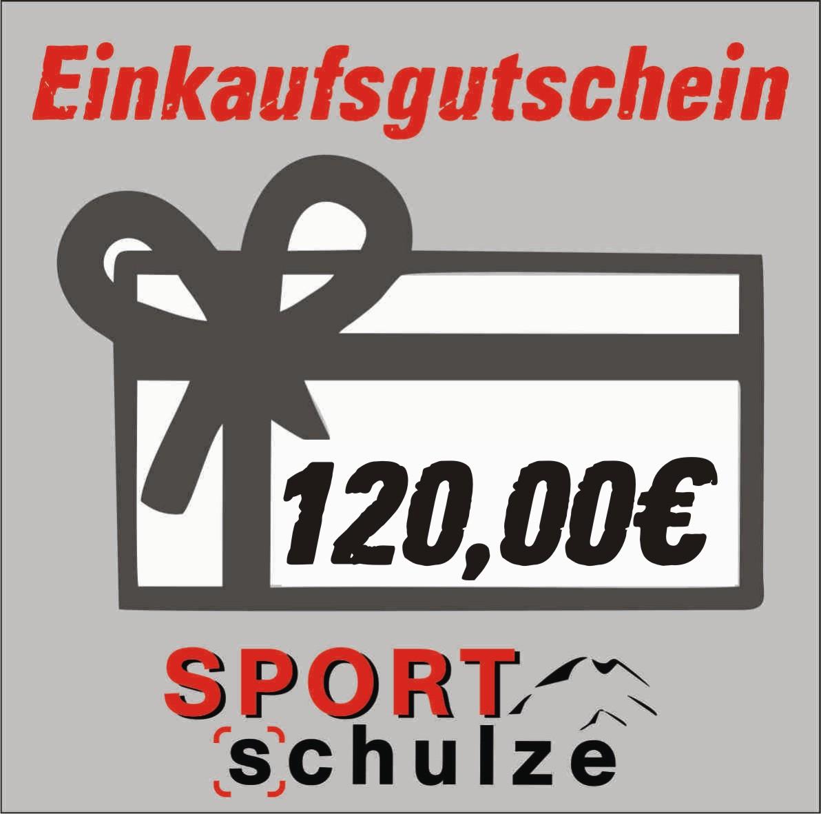 120€ Einkaufsgutschein